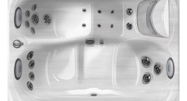 View from above on Jacuzzi® spa PREMIUM J-315